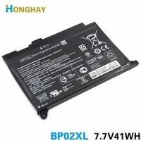 HONGHAY 7.7V 41wh 5150mAh Laptop Battery BP02XL For HP Pavilion PC 15 15 AU 849909 850 (F9 21) 849569 421 HSTNN LB7H BP02041XL