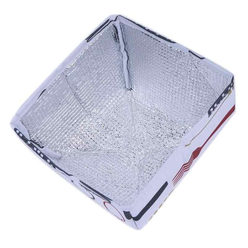 Alimentos Da Folha De Alumínio Tampas Dobráveis Para Manter A Comida quente Quente Placas de Isolamento de Utilitários de Cozinha Acessórios de Cozinha de Alimentos
