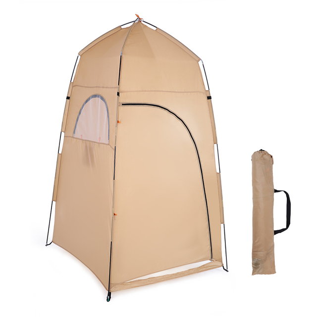 TOMSHOO Portable Outdoor Shower Bath Changing Fitting Room camping Tent Shelter Beach Privacy Toilet tent for outdoor 2019 2