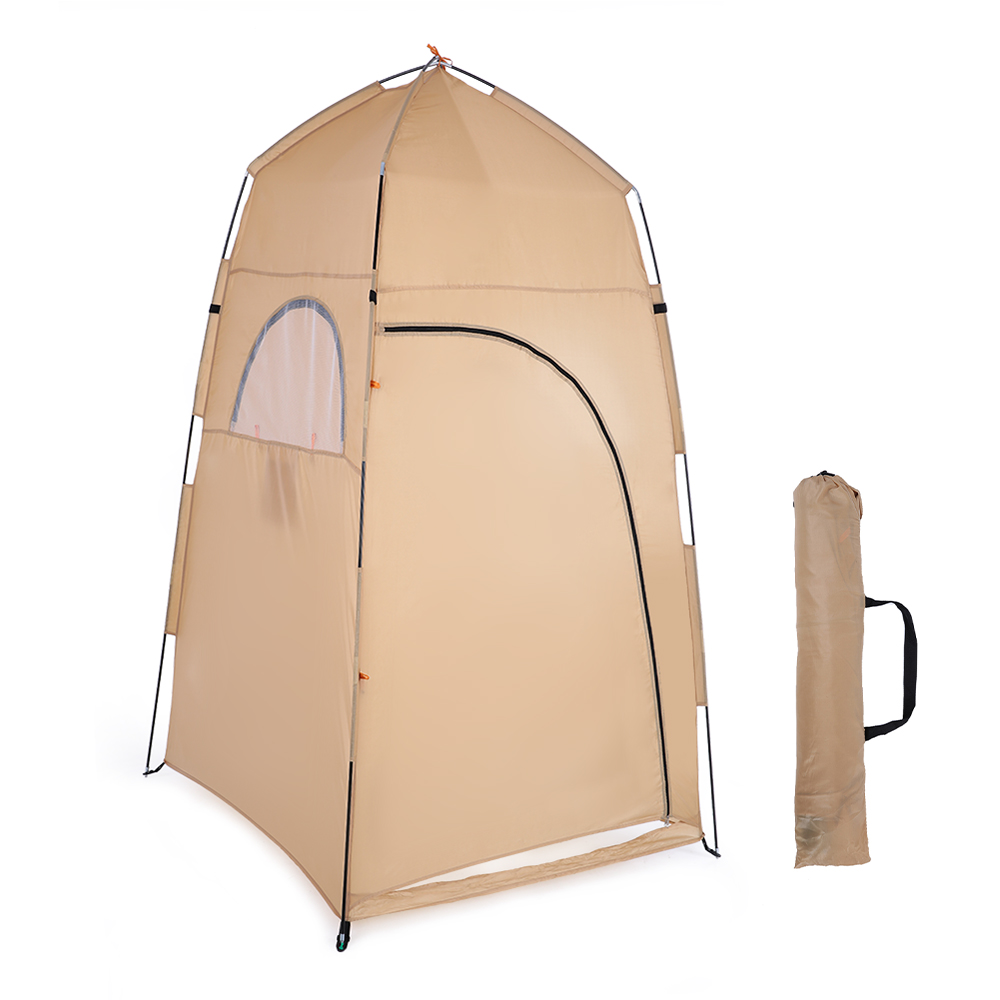 TOMSHOO Portable Camping Tent  With Large Zippered Door Used As Forest And Mountain 1