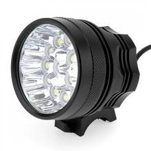 15x XM-L T6 LED Bicycle Lamp Bike Light Headlight Cycling Torch with 8.4V 6400mAh Battery Set vastfire bike light set 40000lm xm l t6 12 led bicycle headlight cycling torch 16000mah battery headband charger tail light