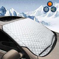 147*70cm cubierta de parabrisas de la ventana del coche de la luz del sol de hielo de nieve Protector de polvo