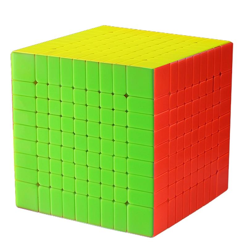 Zhisheng Yuxin Huanglong 9 Couches Cube Stickerless/Noir 9x9x9 Cube Puzzle 9-Couches Jouets pour Enfants Enfants YX1069