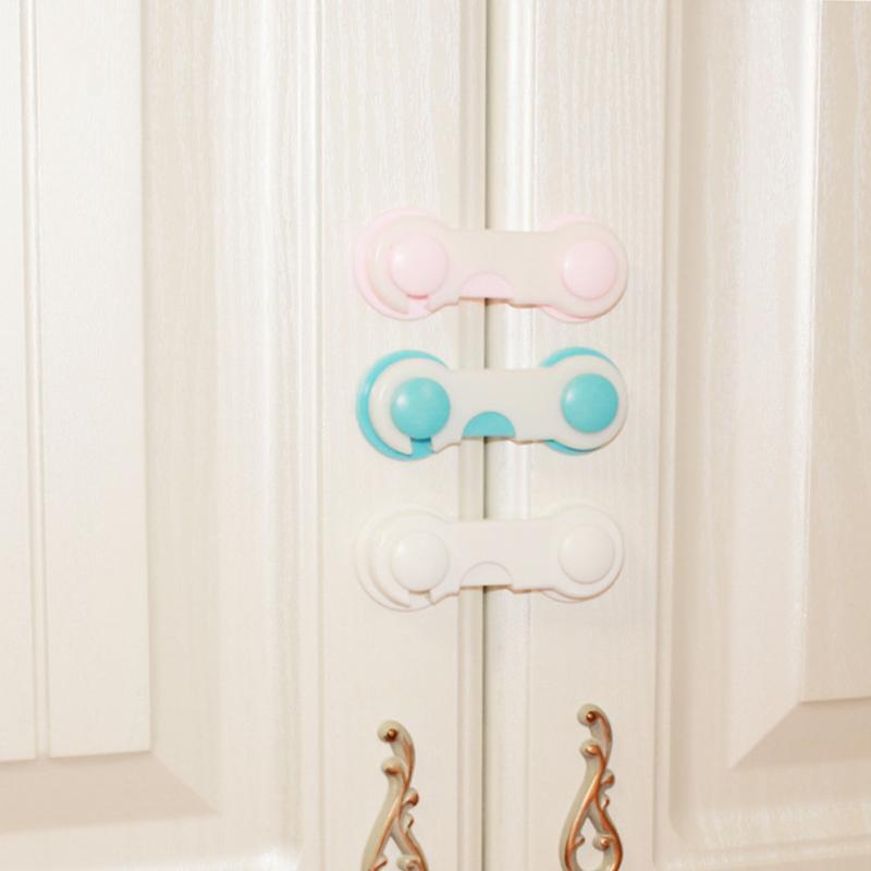 10 Pcs Baby Drawer Lock Children Security Protection For Cabinet Toddler Child Safety Lock Refrigerator Window Closet Wardrobe