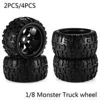 RC Car Off Road 1/8 for Monster Truck Bigfoot Tyre Tires 17mm Hex Wheel 2PCS/4PCS Toy car tire