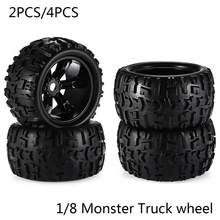 RC Auto Off Road 1/8 voor Monster Truck Bigfoot Band Banden 17mm Hex Wiel 2 PCS/4 PCS speelgoed auto tire(China)