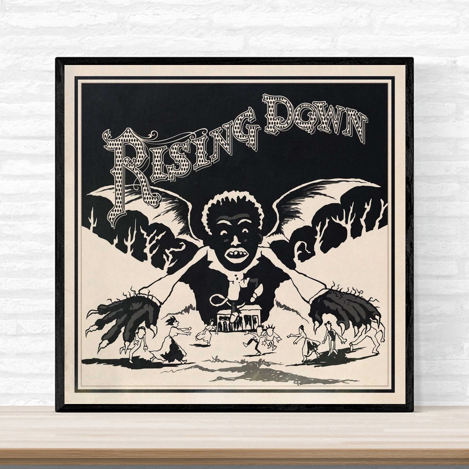 The Roots Rising Down Poster Album Hip Hop Rap Jazz Music Cover Poster Print on Canvas Home Decor Wall Art No Frame image