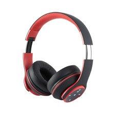 Novo Toque A2DP Fone De Ouvido fone de Ouvido Sem Fio Fones De Ouvido Bluetooth com Microfone FM Suporte & Função de Leitor de Cartão TF de Alta Qualidade