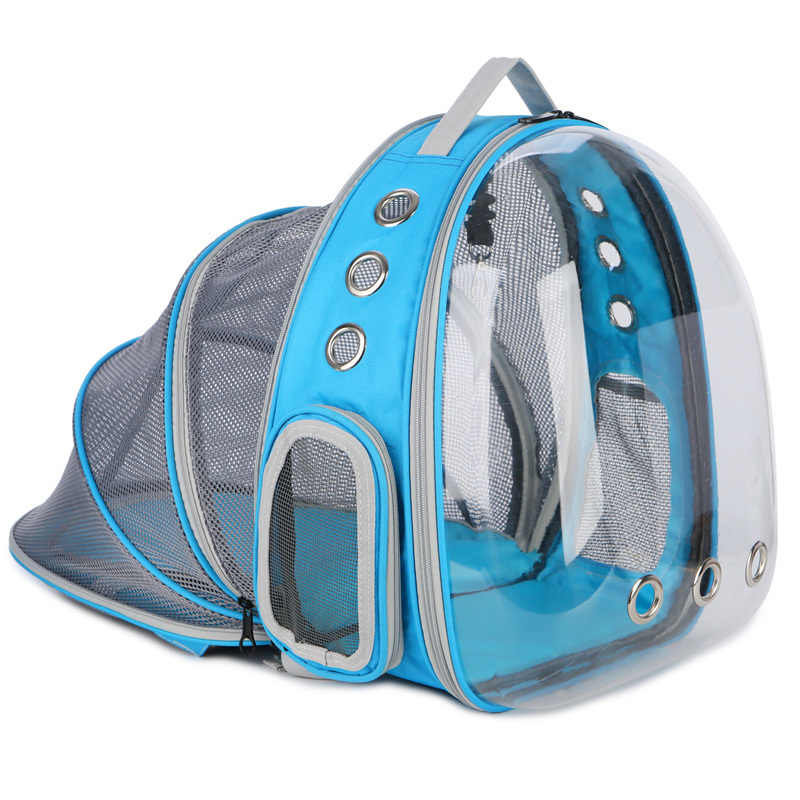 Cat space Capsule Bag with kettle Transparent pet Backpack Outdoor Dog Carrier Cage Breathable Puppy Extensible Backpack CW254