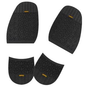 Footful Pair Rubber Stick on Half Soles + Heels Anti Slip Shoe Repair Supply