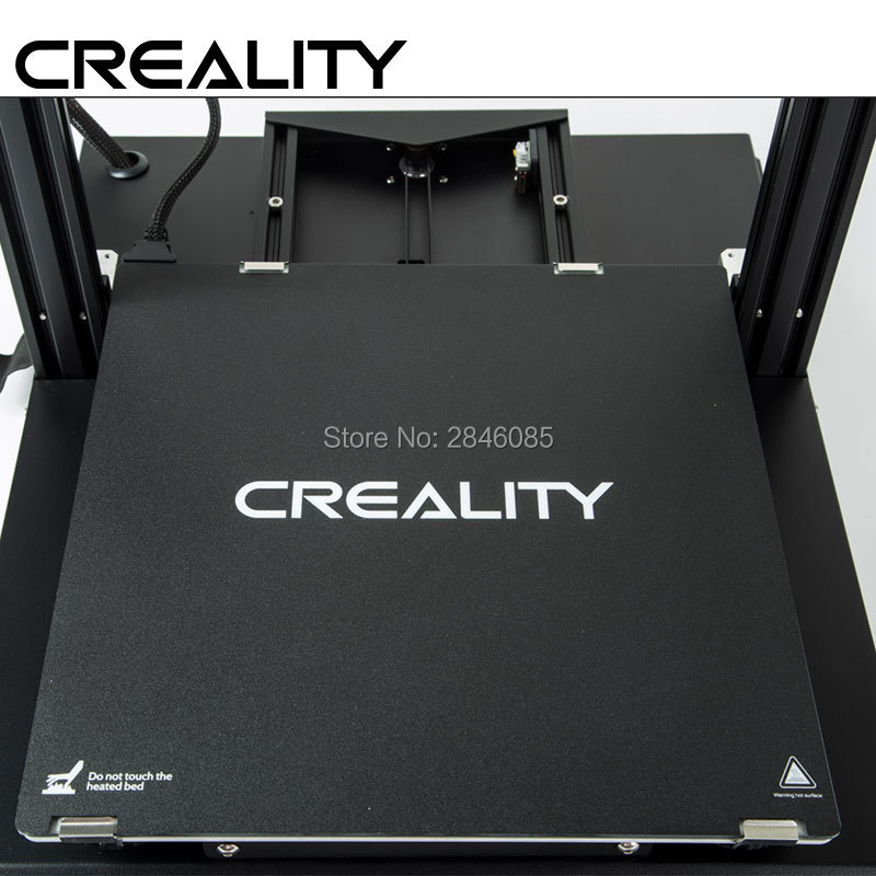 Factory Supply 3D Printer Build Surface with 3M Sticker 3D Printer heated bed Sheet for Creality CR-10S Pro 310x310mm