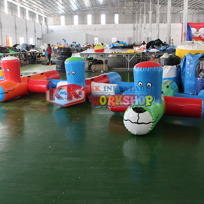 Hot Sale Cheap Quality Inflatable Water Park Water Dog For Water Playing Games