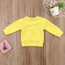 Baby Girls Casual Cartoon T-shirt Sweatshirt