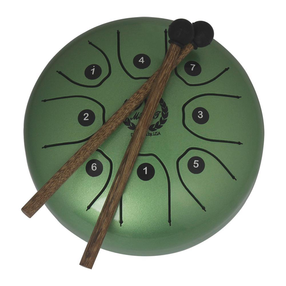 SLADE 5.5 pouces 8 tons tambour à main G Tune acier langue tambour réservoir accrocher tambour avec baguettes sac de transport Instruments de Percussion