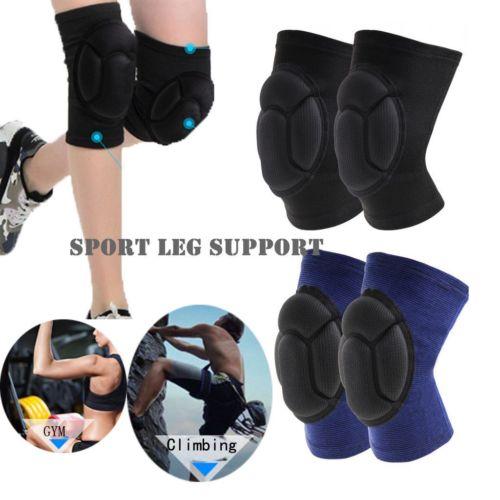 Warm Autumn Winter  Women Men Unisex Sponge Knee Sleeve Compression Brace Support For Sport Joint Pain Arthritis Relief