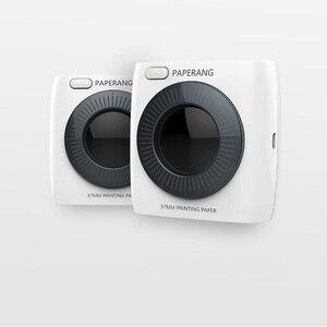 Image 3 - PAPERANG P2 جيب طابعة بلوتوث المحمولة الهاتف صور اتصال لاسلكي HD طابعة حرارية للملصقات 1000mAh البطارية