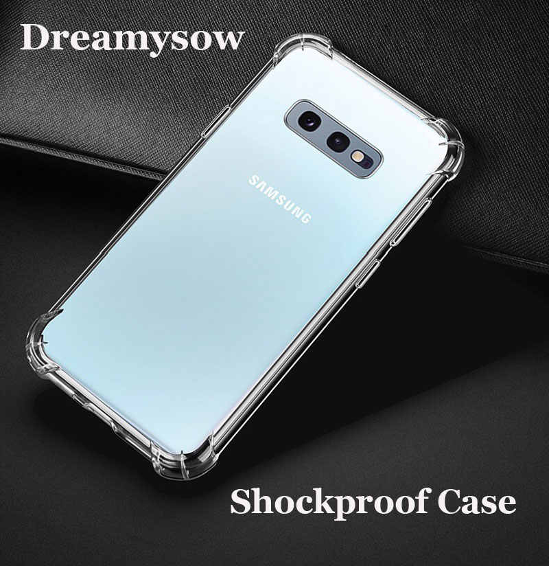 Transparent TPU Case For Samsung A10 A20 A30 A50 A40 A70 S10E S10 Plus Back Cover For Galaxy M20 M10 A6 A8 J4 J6 Plus A7 A9 2018