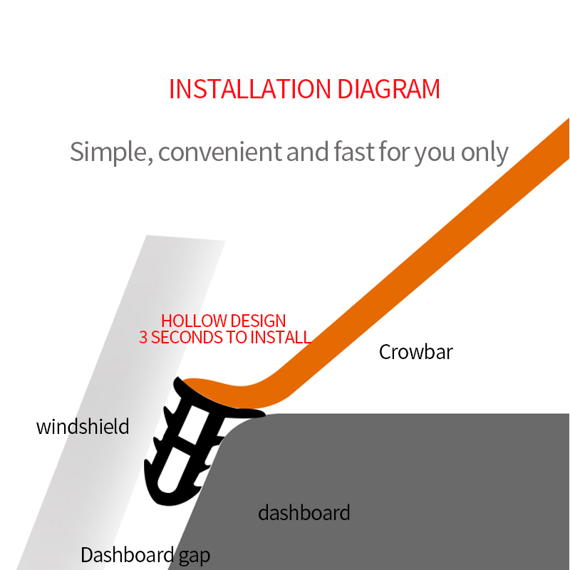 Image 5 - Car Dashboard Sealing Strips Sound Insulation For Renault Kangoo DACIA Scenic Megane Sandero Captur Twingo Modus Koleos-in Car Tax Disc Holders from Automobiles & Motorcycles