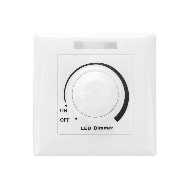 DC 0-10V LED Dimmer Switch Adjustable Controller LED Driver Dimmer For Dimmable Light Downlight Spotlight LED Bulb