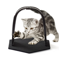manufacturer-direct-new-style-pet-vaulted-scratching-post-scratch-rub-hair-the-cat-brushes-cat-toys-supplies-cross-border