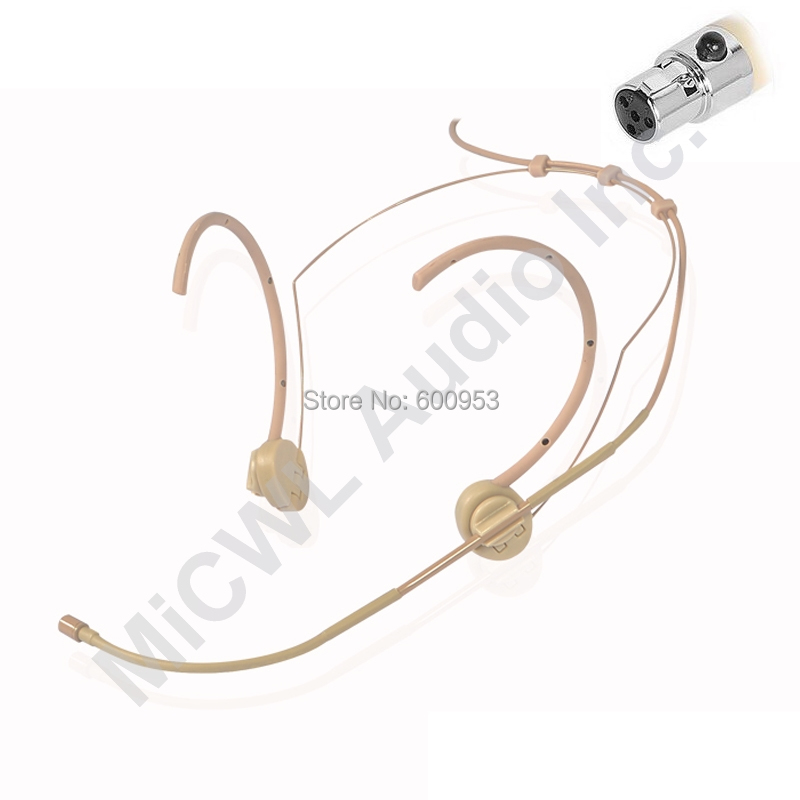 Headworn Ear Hang Hook Microphone 3.5mm for PC Laptop Camera Voice Recorder