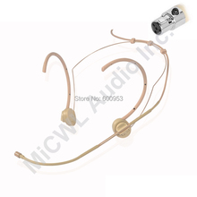 Foldable ears Hook Head Wearing Headset Headworn Conference Microphone for Shure UR1 BLX SVX ULX  SLX UR4D UR4S PGX Mini XLR 4P