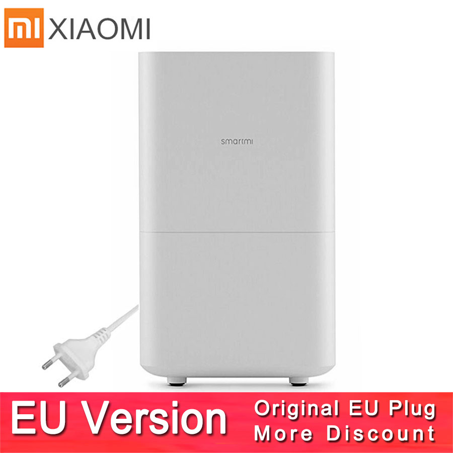 Xiaomi Smartmi Air Humidifier 2 No Smog No Mist Evaporate Type Xiaomi Zhimi Air Humidifier 2 Mijia App Original/ Russian Version