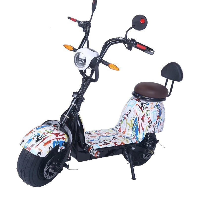 35453a0b242 Electric car bicycle adult driving models mini small car scooter Harley car  Single seat is convenient