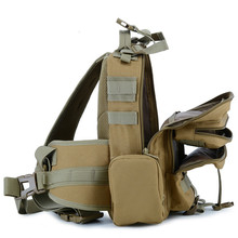 Outdoor Travel Shoulder Bag Tactical Camouflage Military Sling Chest Pack Multi-function Package Cycling Chest Bag цена 2017