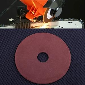 """Image 5 - * 10,5*3,2*22mm papel de lija para pulido de disco de la rueda para afilador de motosierra de paso de 325 de 3/8 """"de la cadena"""