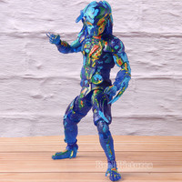 The Predator 2018 Movie Thermal Vision Fugitive Predator NECA Action Figure PVC Collectible Model Toy For Birthday Gift