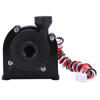 New Sc600 12V DC Water Pump 500 L/H G1/4 inch Input and Output Use for Water Cooling Water Cooling Circulating Computer Assembly
