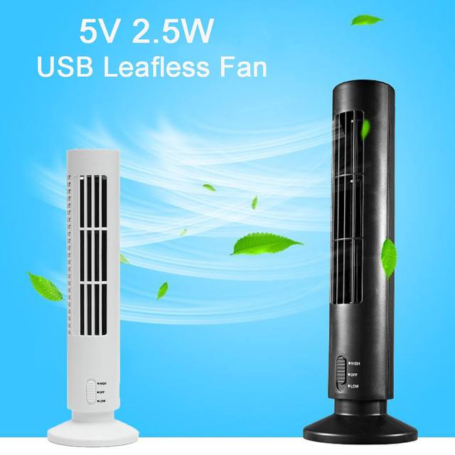 Warmtoo 5v 2 5w Mini Portable Travel Summer Usb Cooling Air Purifier Air Conditioner Tower Bladeless Desk Fan With Usb Cable In Fans From Home
