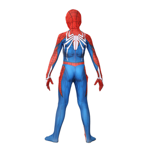 Image 5 - Kids Marvel Comic Fantasy Superhero Classic Ps4 Insomniac Games Spider boy Carnival Party Zentai Suit Halloween Cosplay Costume