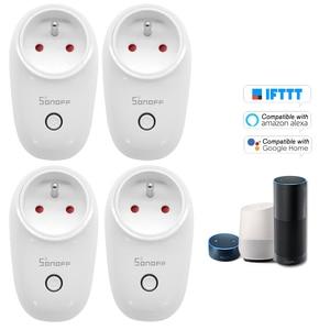 Image 3 - 1/2/3/4/5 PCS Sonoff S26 WiFi 스마트 소켓 EU 유형 E 무선 플러그 전원 소켓 Alexa Google 홈 IFTTT 용 스마트 홈 스위치