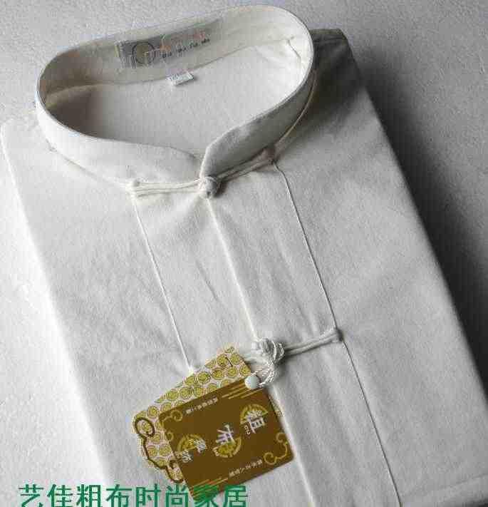 中国の伝統的な服カンフー服チャイナシャツ長袖男性のための中国唐のスーツメンズ男性のための男