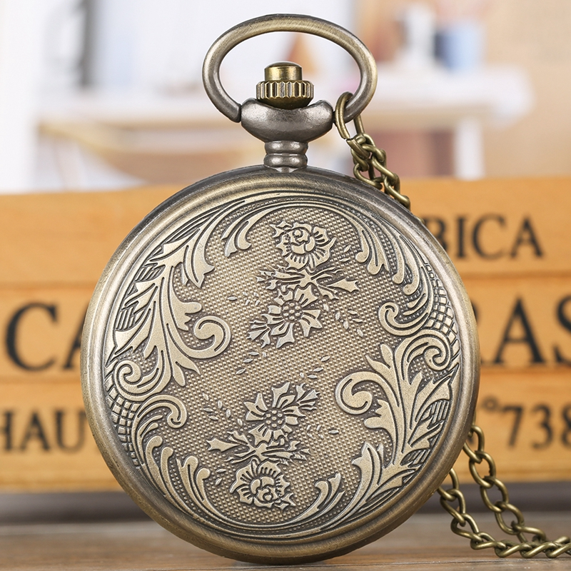 Religious Style Virgin Mary and Jesus Quartz Pocket Watch Pendant for Women Girls Lady Jewelry Necklace Chain Watch Luxury reloj