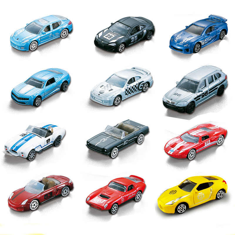1 pc 1:64 Scale Alloy X5 Car Models LFA GT GTR Mini Racing Sports Car Railcar Vehicle World Famous Toys For Boy Children Gifts