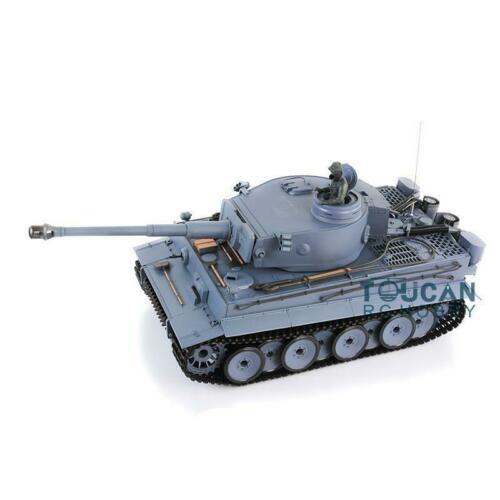 2,4 Ghz Henglong 1/16 escala 6,0 sistema de combate infrarrojo plástico Ver Tigre alemán I RTR RC tanque 3818 modelo TH12437-in Tanques RC from Juguetes y pasatiempos    2
