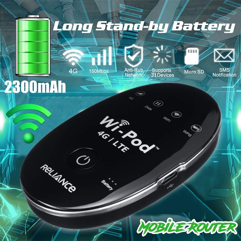 Portable USB Wingle LTE Universal 4G Mobile WiFi Modem Dongle Technical Car WIFI Wireless Router Hotspot SIM Card image