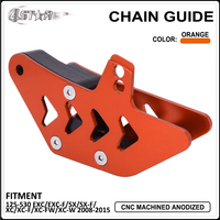 Motorbike CNC Aluminum Chain Guide Guard Slider For KTM EXC EXCF SX SXF XC XCF XCW XCFW 125 150 200 250 350 450 500 530 08 15