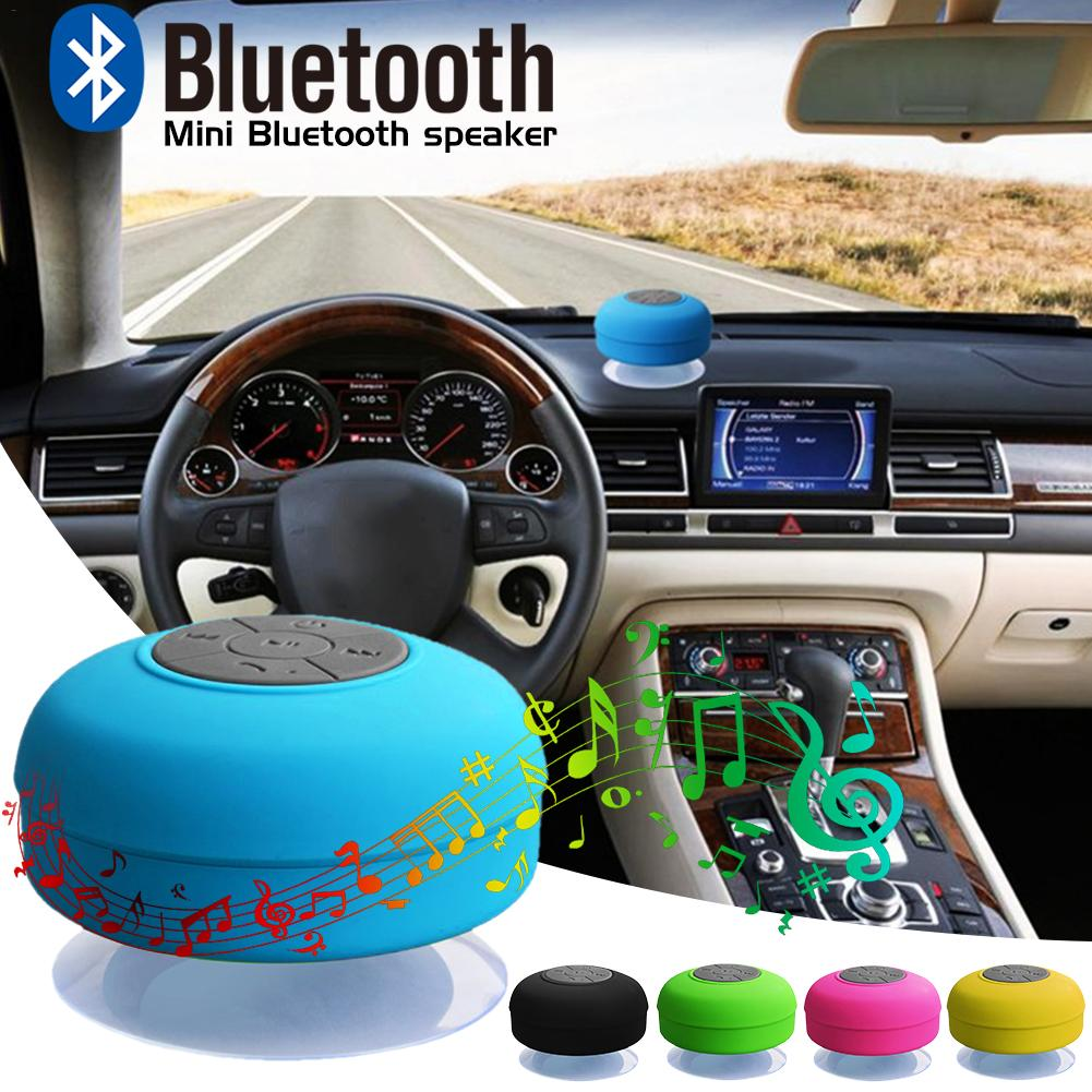 Image 3 - New Bluetooth Speaker Waterproof Wireless Bluetooth Speaker Bathroom Mini Fashionable Musical Wireless Speaker With Suction Cup-in Portable Speakers from Consumer Electronics