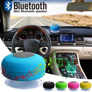 Image 3 - Nieuwe Bluetooth Speaker Waterdichte Draadloze Bluetooth Speaker Badkamer Mini Modieuze Musical Draadloze Speaker Met Zuignap