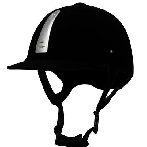 Equipamentos de Equitação Anti colisão de Segurança Unisex Capacete Equestre Ajustável 54 Cm 62 Centímetros Abs Velvet Headwear Proteção Chapéu