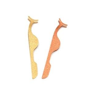 Image 5 - Atacado 100 pces aço inoxidável falso cílios curler pinças aplicador de cílios incluem personalizar seu próprio logotipo rótulo privado
