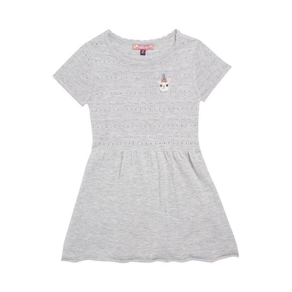 Méthode de sortie Simple fille originale dans Will enfant enfants bébé été et automne nouveau modèle à tricoter robe à manches courtes 2-10 ans