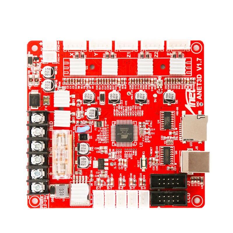 Placa de Controle Motherboard Mainboard Para Anet V1.7 A8 Diy Assembléia Auto 3D Kit de Impressora Desktop