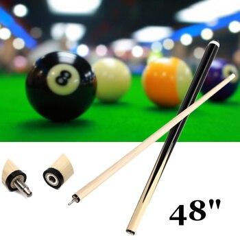 Wooden 1Pcs 120cm 1/2 Structure Pool Cues Billiard House Bar Pool Cues Sticks Entertainment Snooker Accessories Billiard Tools