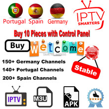 Best Spain Portugal IPTV Subscription With Europe IPTV Spain IPTV Portugal LiveTV Support Android Box M3u Enigma2 Smart TV PC(China)