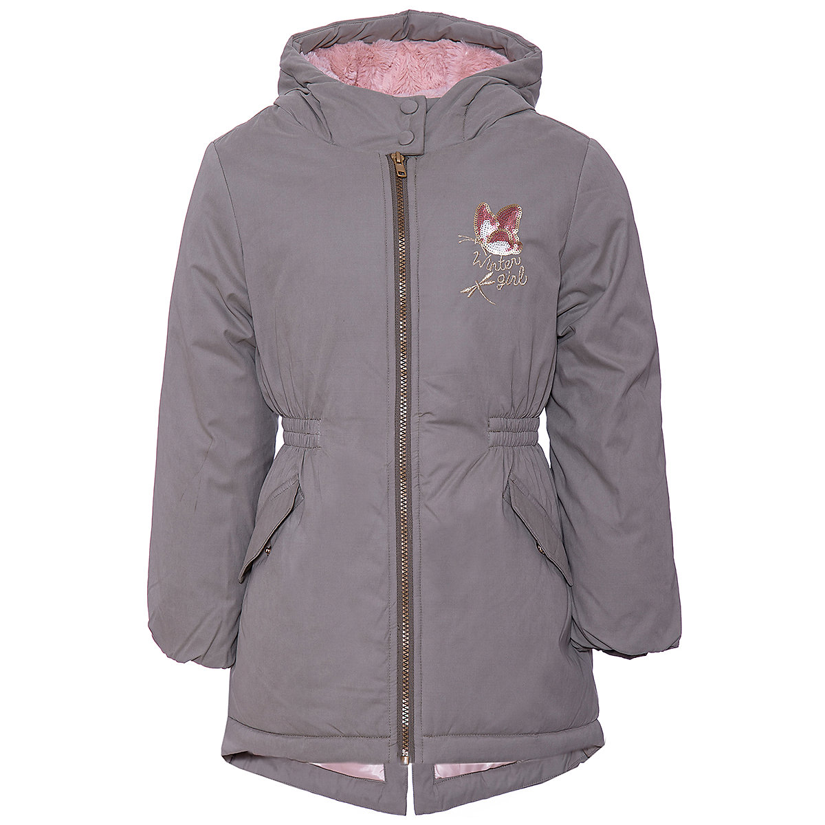 Original Marines Jackets & Coats 9500798 Polyester Girls girl children clothing reima jackets 8665394 for girls polyester winter fur clothes girl